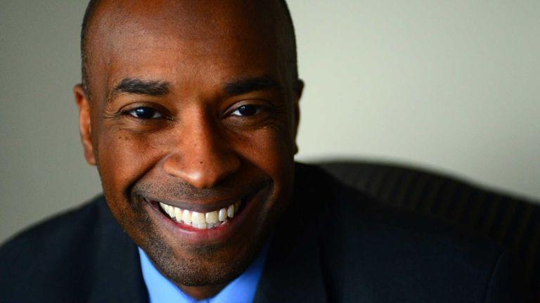 Nassau Legislator Kevan Abrahams is photographed at his
