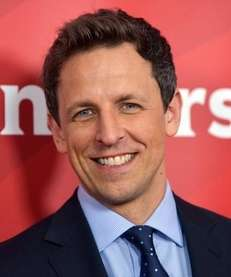 Seth Meyers at an NBCUniversal event Jan. 19,