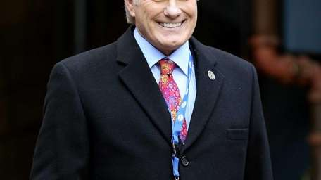 Fox football analyst Terry Bradshaw smiles on the