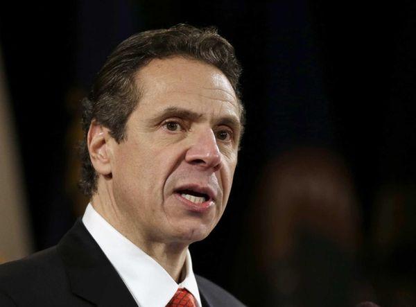 New York Gov. Andrew Cuomo delivers his annual
