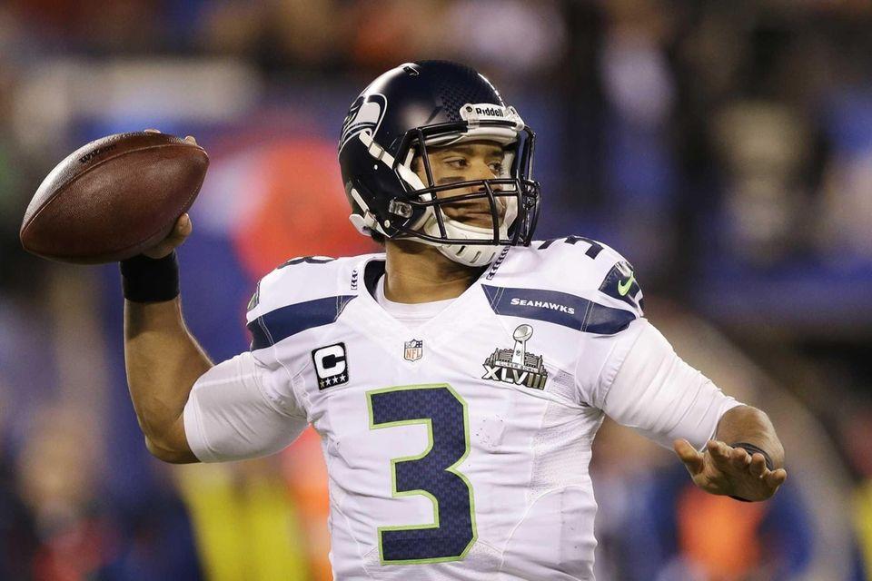 Super Bowl win: Super Bowl XLVIII Russell Wilson