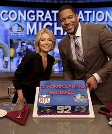 quot;LIVE with Kelly and Michael,quot; co-host Kelly Ripa