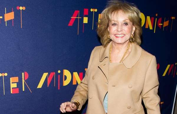 "Barbara Walters attends the Broadway opening of ""After"