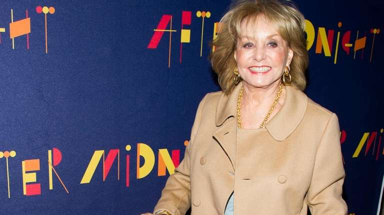 Barbara Walters attends the Broadway opening of