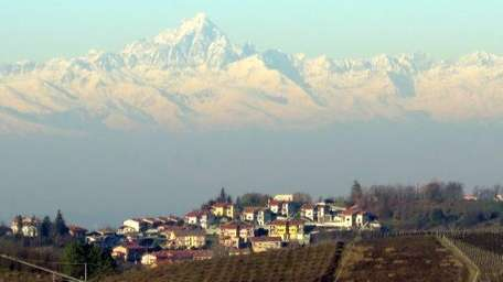 Piedmont views with Alps (Photo by - MICHAEL