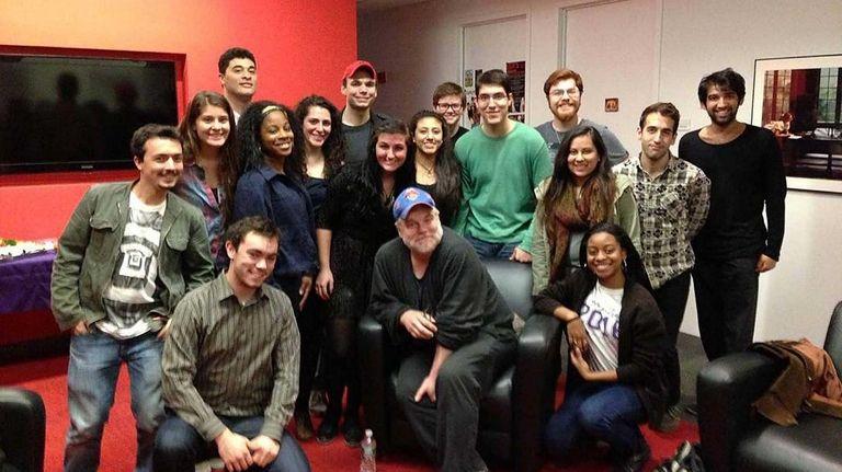 Philip Seymour Hoffman meets with Dean's Scholars students