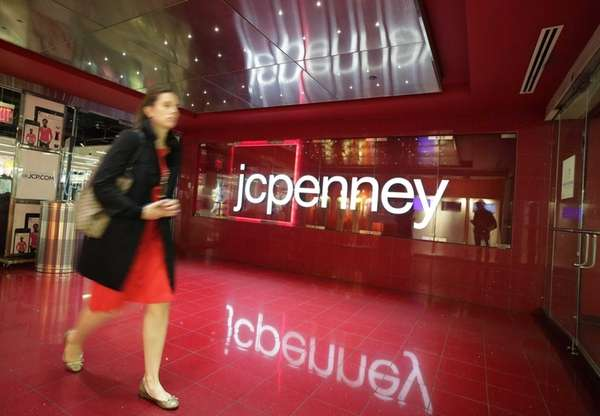 J.C. Penney released encouraging sales news yesterday after