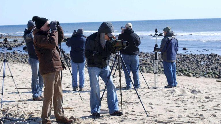 Members of the Eastern Long Island Audubon Society