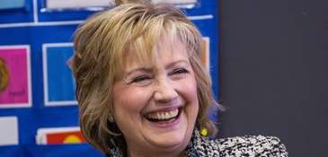 Former United States Secretary of State Hillary Clinton