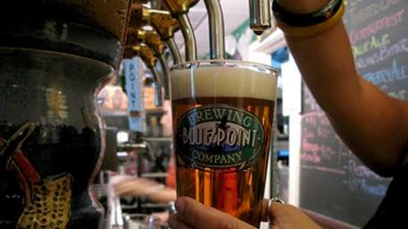 Blue Point Brewing Co. of Patchogue, the largest