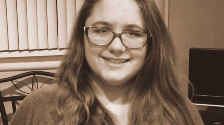 Amanda Borowski, a freshman at Hauppauge High School,