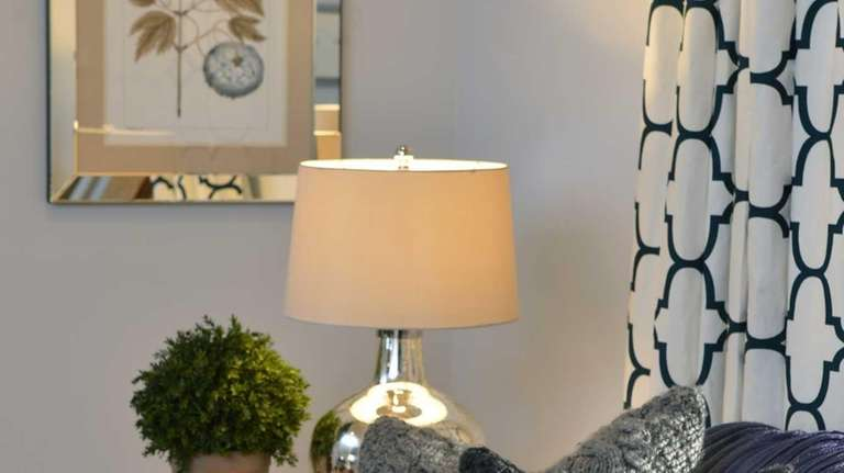 Designed by Kelly Dall, knit pillows and a
