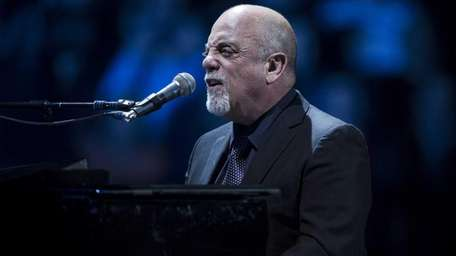 Billy Joel performs at his second artist-in-residence concert