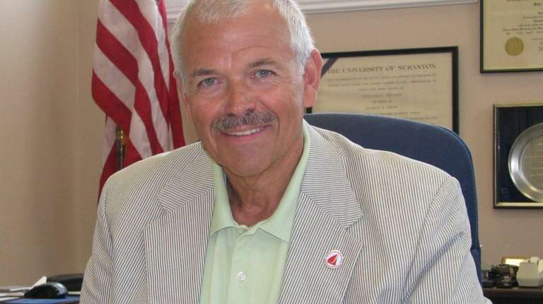 John R. Williams, Amityville schools superintendent, in an