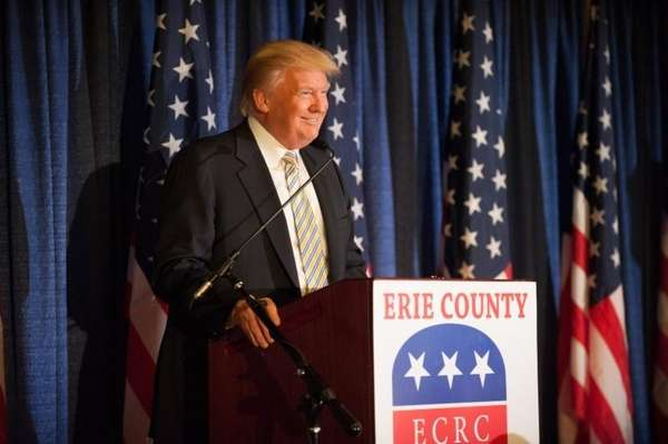 Donald Trump at the Erie County Republican Committee