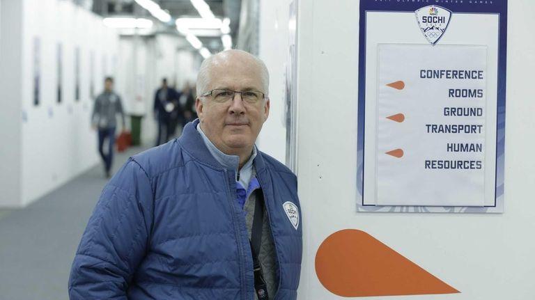 John Fritsche, NBC's senior VP for Olympic Operations