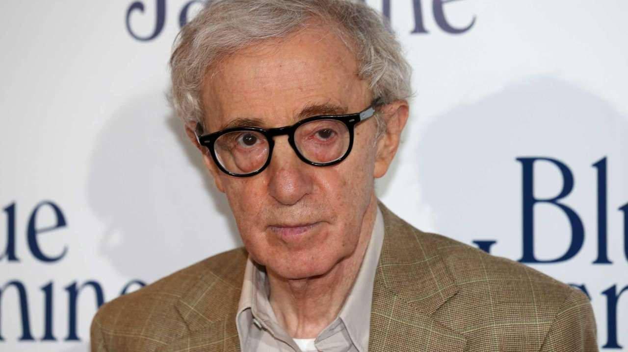 Woody Allen at a screening of