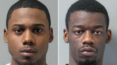 Gerard Brown, left, 26, of Roosevelt, and Nicholas