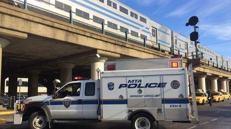 MTA Police at the Long Island Rail Road