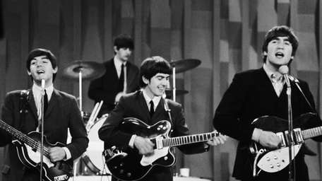 The Beatles appeared on