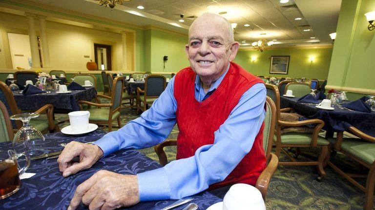 Retired deli owner Gunther Lutzen, 81, who had