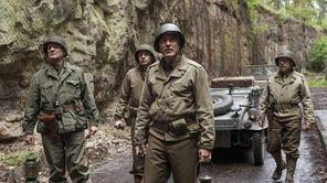 From left, Bill Murray, Dimitri Leonidas, George Clooney