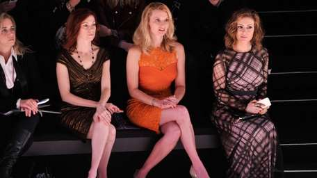 Left to right: Carrie Preston, Andrea Powell and