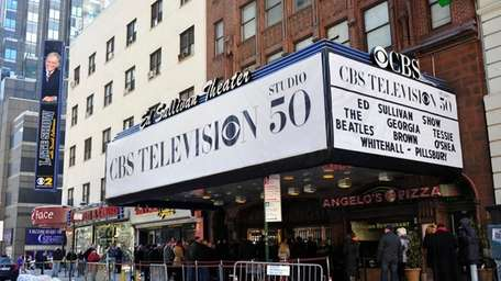 The Ed Sullivan Theater on Broadway hosted the