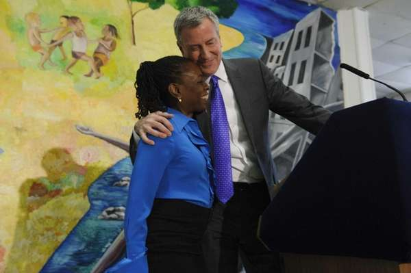 Mayor Bill de Blasio announces the appointment of
