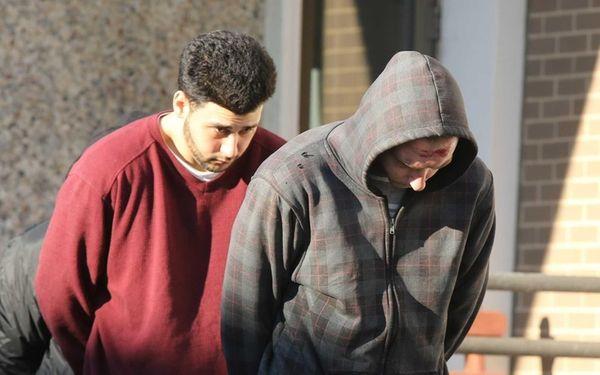 Max Schneider, 24, left, and Nicholas Giambalvo, 27,