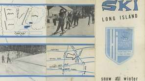 A brochure for the Hi-Point Ski Club created