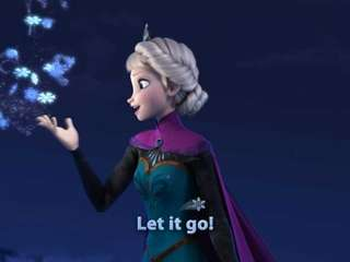 "A scene from the movie Disney move ""Frozen,"""