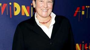 "k.d. lang attends ""After Midnight"" broadway opening night"