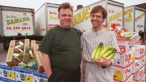 Tom Hoey, left, and Tom Hoey Jr. in