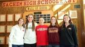 Sachem East seniors who signed national letters of