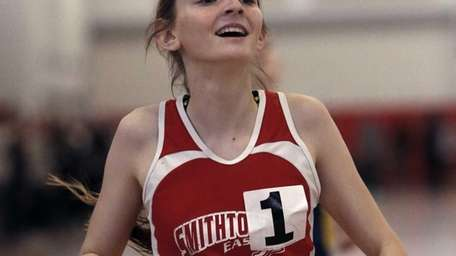 Smithtown East's Jaclyn Gallery placed first in the