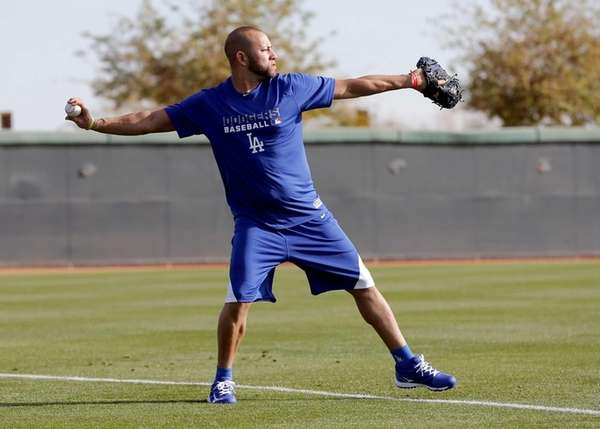 Los Angeles Dodgers spring training invitee J.C. Boscan