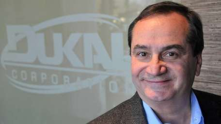 Gerry LoDuca, president of Dukal Corp., seen at