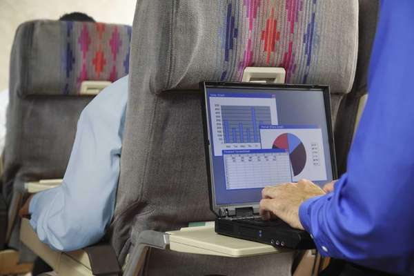 Although data shows business travel spending is expected