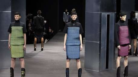 The Alexander Wang Fall 2014 collection is modeled