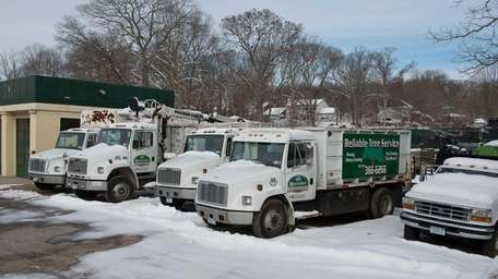 This undated photo shows Reliable Tree Service in