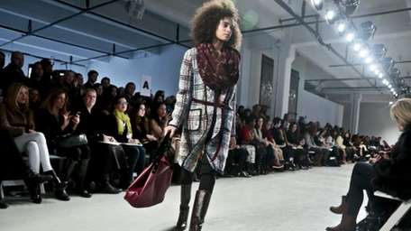 Fashion from the Tracy Reese fall 2014 collection