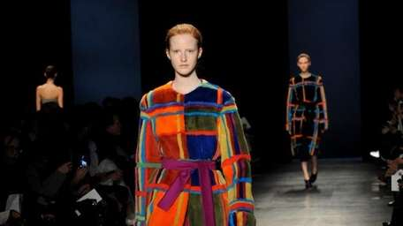 The Altuzarra Fall 2014 collection is modeled during