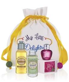 Stop by L'Occitane in Manhattan for complimentary beauty