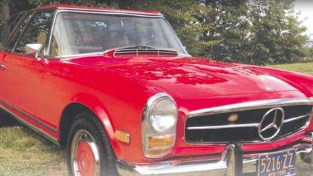THE CAR AND ITS OWNER 1969 Mercedes-Benz 280SL