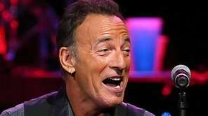 Bruce Springsteen performs at Perth Arena in Perth,