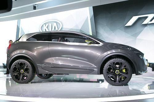 Kia Niro Concept at the 2014 Chicago Auto