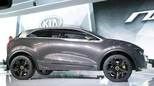 Kia Niro Concept at the 2014 Chicago Auto
