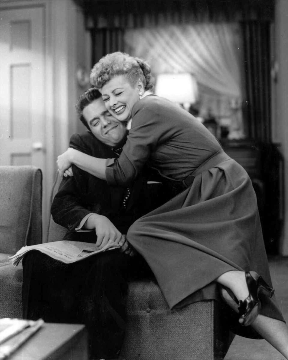 """Lucy and Desi (""""I Love Lucy"""")"""