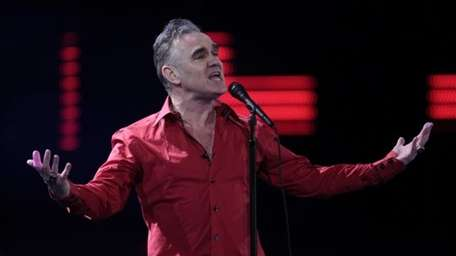 British singer Morrissey performs at the 53rd annual
